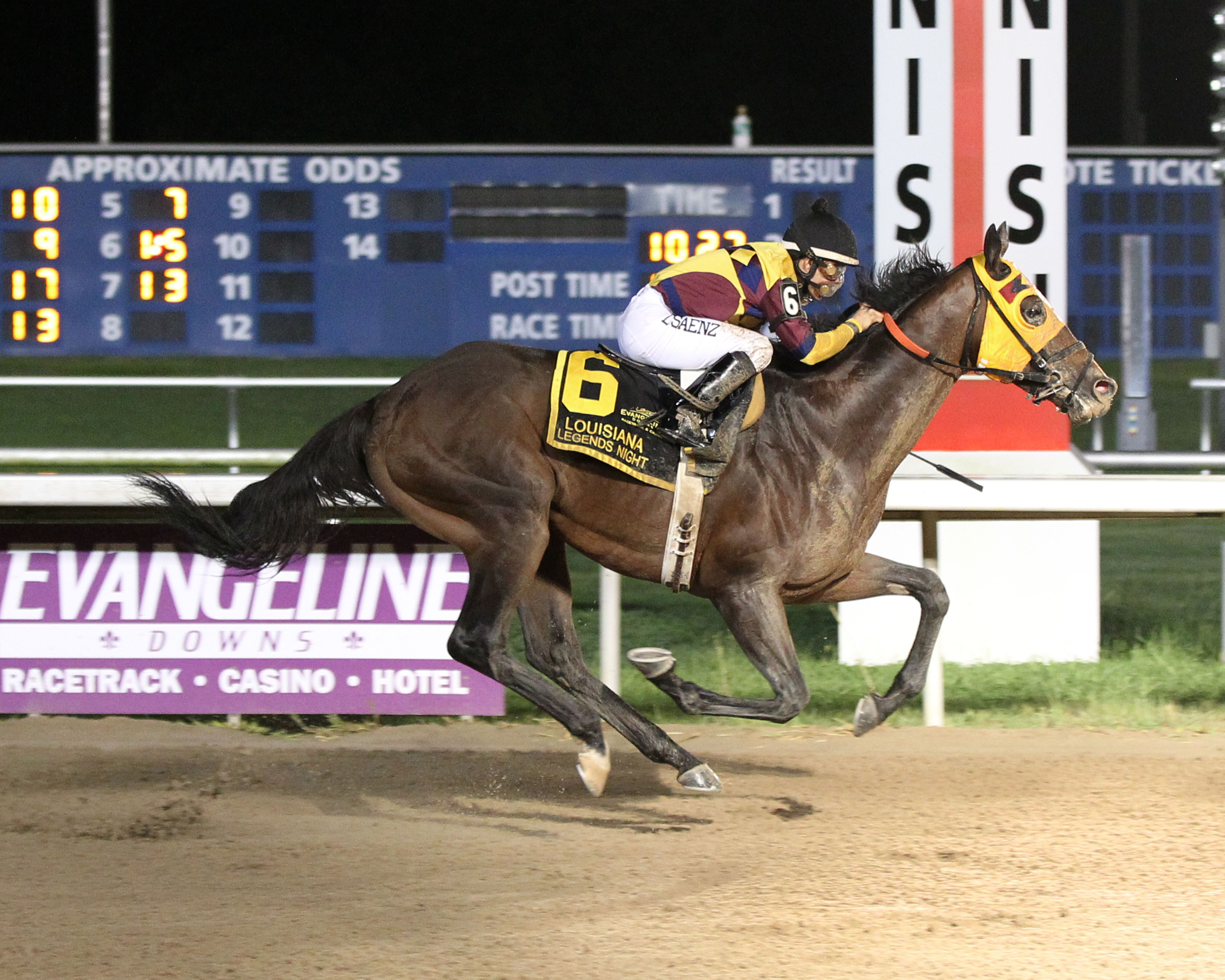 Stormdriver - Louisiana Legends Classic Stakes - Honoring Pola Benoit - 07-04-15 - R11 - EVD - Finish